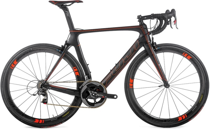 2016 Fuji Transonic SL black red sram