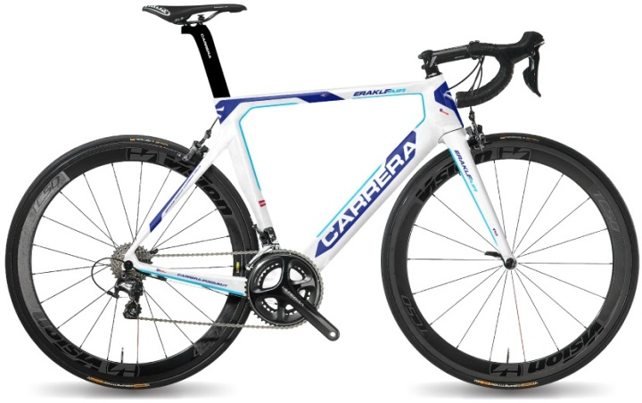 2017 CARRERA Erakle Air light blue white ultegra