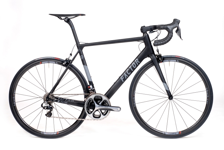 2017 Factor 02 black dura ace