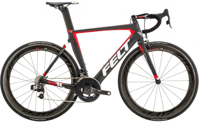 2017 Felt AR1 etap sram red black