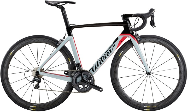 2017 Wilier Cento10 Air grey red ultegra
