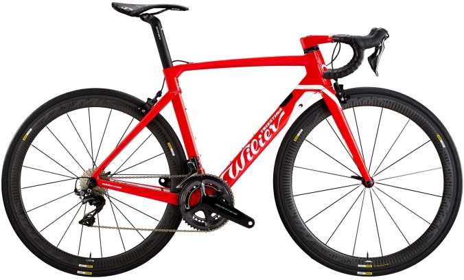 2017 Wilier Cento10 Air red dura ace