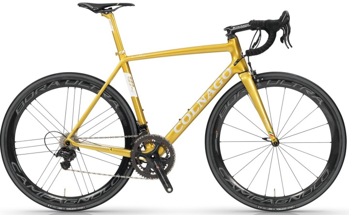 COLNAGO-V1r 2017 gold campy super record
