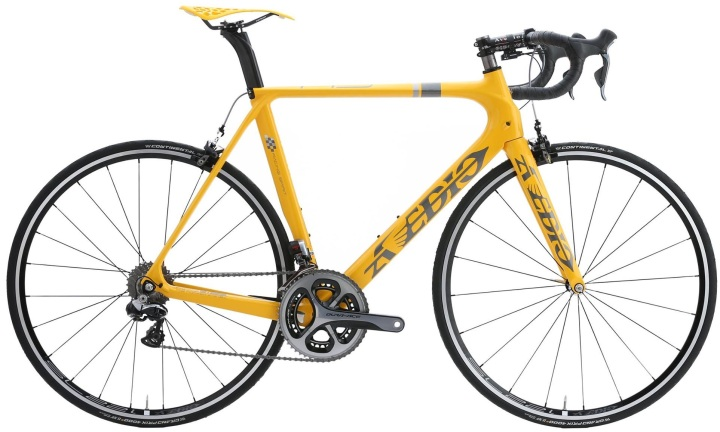 2017 Avedio yellow dura ace