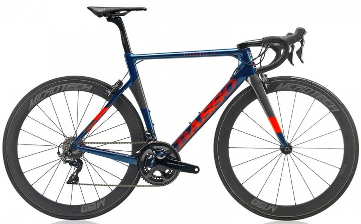 2017 Basso Diamante SV bluered dura ace