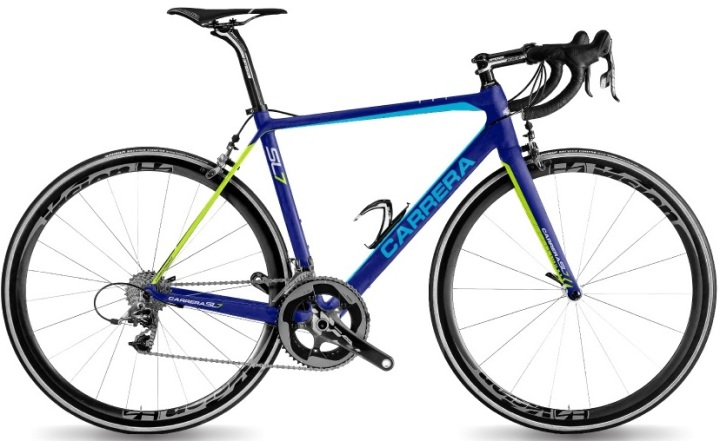 2017 CARRERA-SL7 sram blue lime
