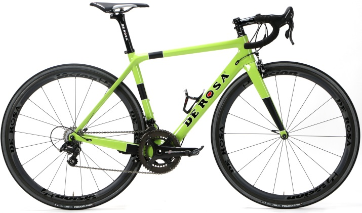2017 De Rosa King XS lime campy super record
