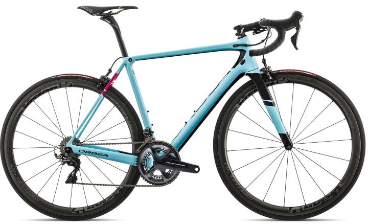 2017 Orbea ORCA M10i LTD light blue dura ace