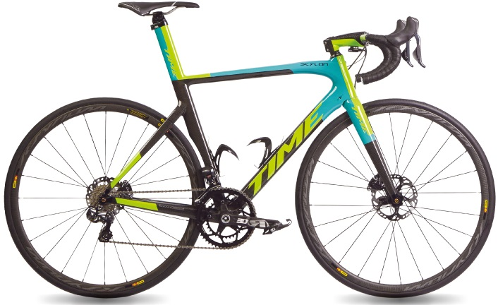 2017 Time Skylon Activ disc lime light blue