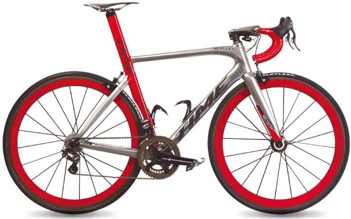 2017 Time Skylon Activ red silver 30th anni campy super record