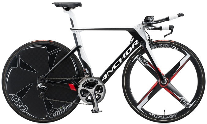 2016 Anchor RT9 Pro dura Ace tt red white black