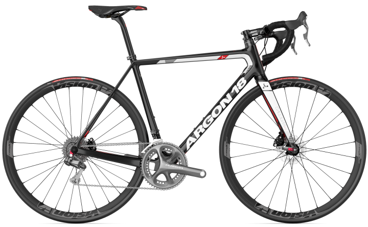2017 Argon 18 Gallium Pro disc ultegra red white black