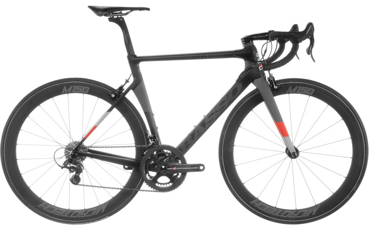 2017 Basso Diamante SV black red grey campy super record