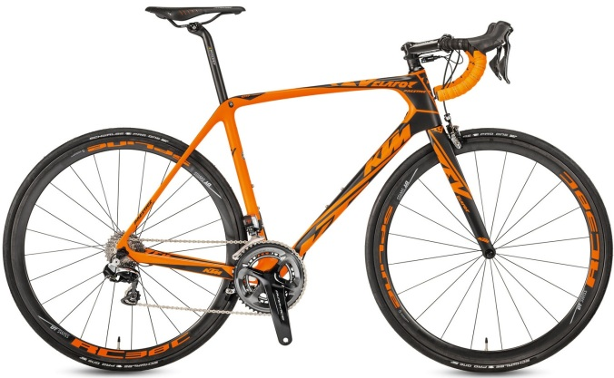 2017 KTM Revelator Prestige Dura Ace Di2 orange