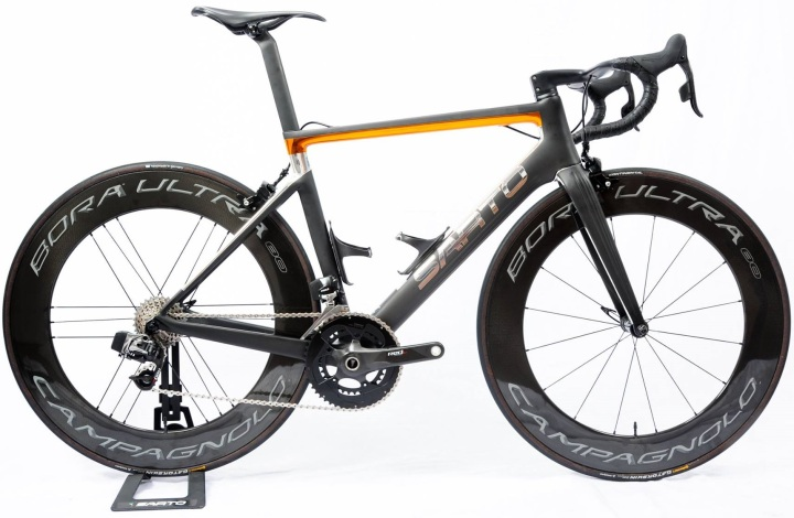 2017 Sarto Lampo insta sram etap orange black