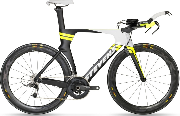 2017 Stevens Super Trofeo tt yellow black sram red